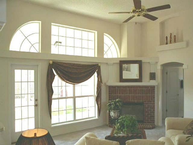 Great Room Quarter Circle Windows