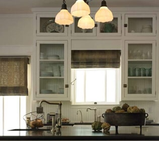 Motorized Roman Shades