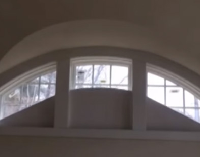 Arched Roller Shade