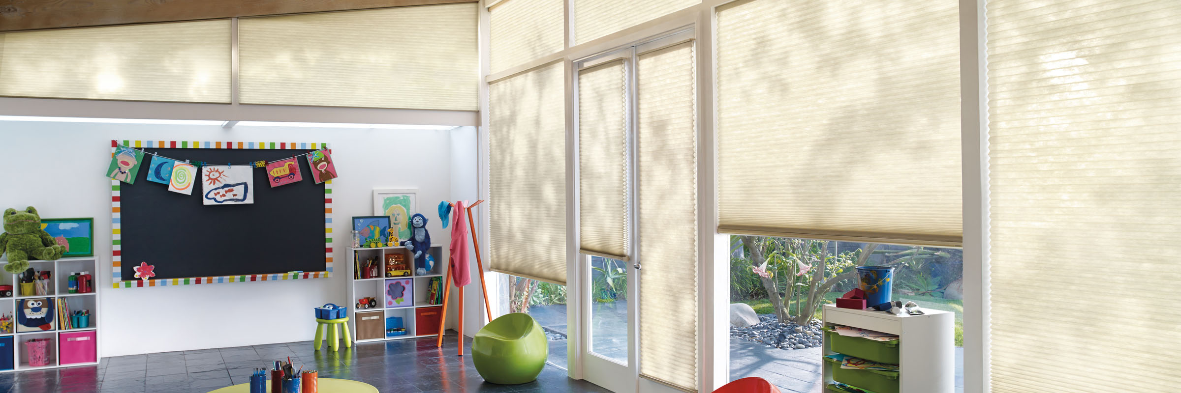 Cellular Blinds Applause Carousel